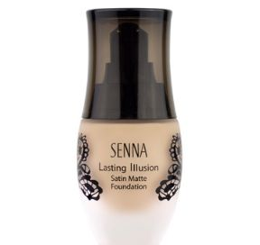 SENNA Lasting Illusion 'Satin Matte' Foundation